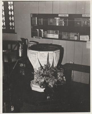 All Saints Church Interior 1976; 2018.229.07