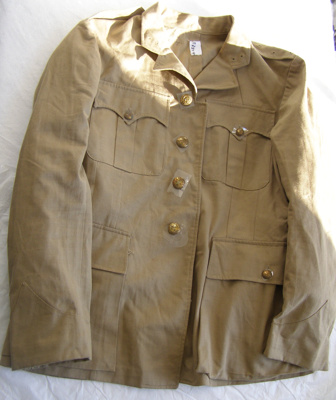 NZ Army Uniform Jacket; Unknown; 1939-1945; T2015.28