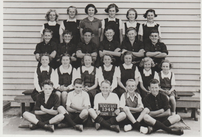 Howick District High School Form 2 1940; 1940; 2019.050.13