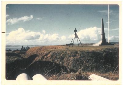 Stockade Hill and trench.; Hattaway, Robert; 2016.315.72