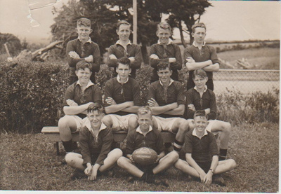 Howick District High School Secondary Rugby Football team; 1946; 2019.072.01