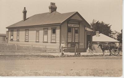 Howick Post Office; Wilson, W T; 1930s; 2018.072.06
