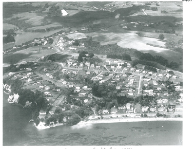 Cockle Bay aerial, 1959; Whites Aviation; 1/03/1959; 2017.219.37