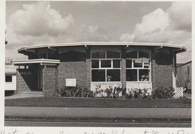 Howick Library in Picton Street.; Eastern Courier; c1967; 2017.596.03