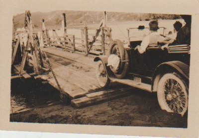 The Ausaldo on a punt 1929; 1929; 2017.462.09