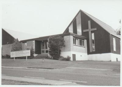 St Peter's Anglican Church, 1990; La Roche, Alan; 1/12/1990; 2018.280.27