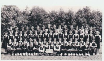 Howick District High School Secondary Pupils, 1949; Sloan, Ralph S, Auckland; 1949; 2019.072.50