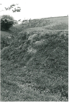 Bastion on Stockade Hill; La Roche, Alan; Sept.1970; 2016.311.61