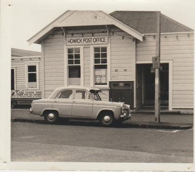 Howick Post Office; Wilson, W T; 1969; 2018.072.02