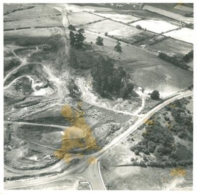 Pigeon Mountain, aerial 17.2.1972; R.N.Z.A.F.; 17/02/1972; 2016.427.12