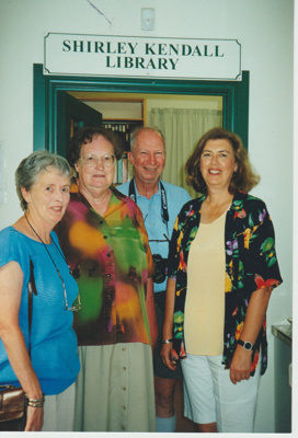 Pam Taylor, Shirley and Geoff Kendall and Marin Burgess; La Roche, Alan; 8/03/2000; 2019.127.02