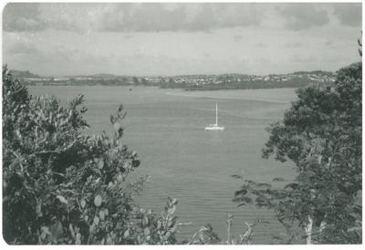 Looking across the Tamaki River; La Roche, Alan; 1991; 2017.262.20