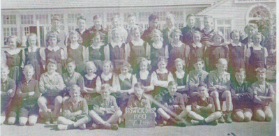 Howick District High School Pupils, Form 1 1950.; 1950; 2019.072.49