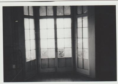 Bell House bay window; La Roche, Alan; 1/04/1973; 2018.052.39