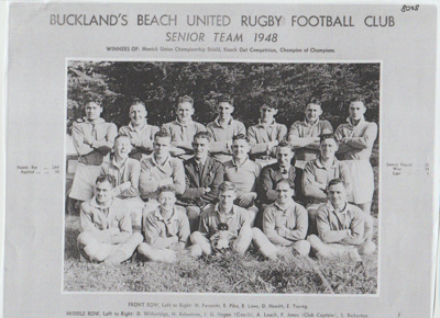 Bucklands Beach United Rugby Football Club Seniors; 1948; 2017.385.51