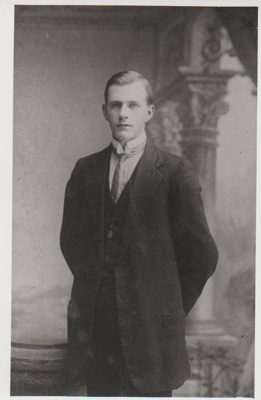Lionel Kemp, killed in action WW1.; 2018.330.18