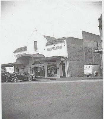 Monterey Theatre in Cook Street; 1946; 2018.001.91