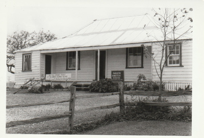 Eckford's homestead in the Howick Historical Village.; May 1984; P2021.08.03