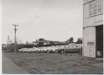 Howick Motors premises; 1950s; 2017.407.09