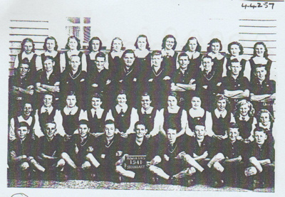 Howick DHS Secondary Pupils 1941.; 1941; 2019.087.01
