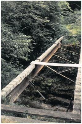 Hattaway bridge over Botany Creek; La Roche, Alan; c1985; 2016.482.79