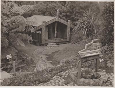 Torere Ngai Tai in the Tainui Garden 1947; Breckon, A.N., Northcote; 1947; 2019.089.07