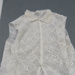 White Irish Crocheted Jacket ; T.2018.456