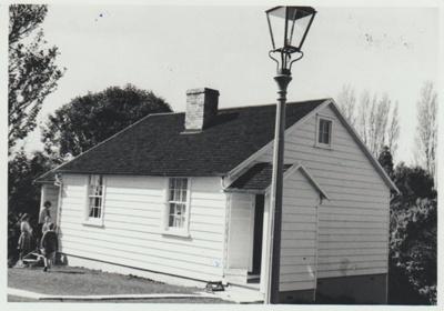 The McDermott cottage in the Garden of Memories.; 1967; 2019.091.20