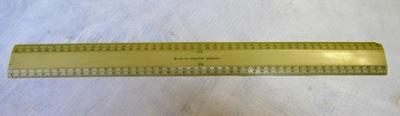 Scale Ruler; O2017.115.04