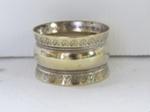 Silver serviette ring; O2017.153.06