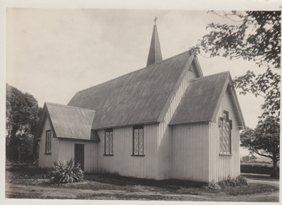 Holy Trinity Church, Otahuhu.; Richardson, James D, Empire Road, Epsom; 2018.277.18