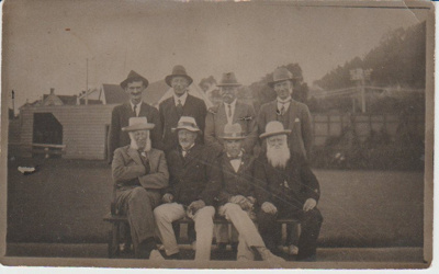 Howick Bowling Club members, 1920; 1920; 2017.389.53