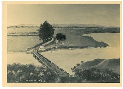 Panmure Bridge,1916; 1914; 2017.276.04