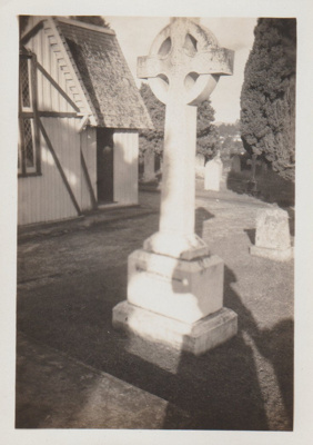 The Ponsonby Peacocke grave at All Saints Church; Hattaway, Robert; 2018.216.81