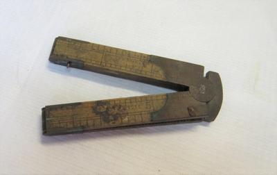 12 inch folding ruler.