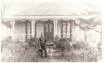 Honeymoon Cottage, Howe St, Howick. c. 1900.; 13309