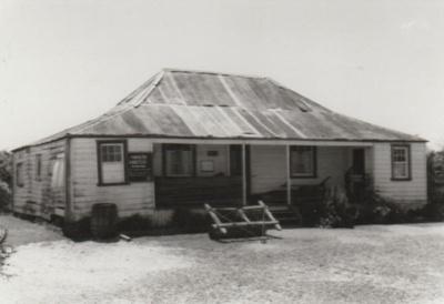 Eckford's homestead in the Howick Historical Village.; November 1983; P2021.08.01