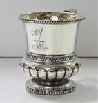 Christening Mug - Silver; 1840s; O2017.147