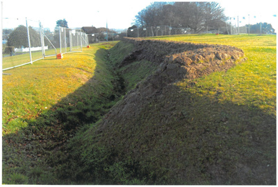 Stockade Hill repairs; La Roche, Alan; 1/06/2012; 2016.327.92