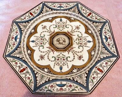 Decorative plate; 2011.56.1