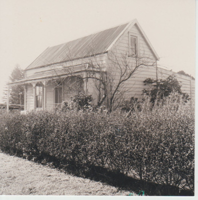 Fencible cottage in Panmure; McCaw, John; 1970; 2018.140.11