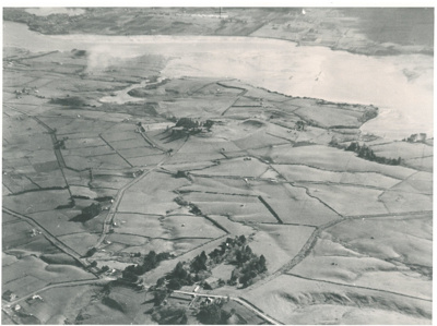 Aerial view of Pigeon Mountain, 1940; 1940; 2016.431.25