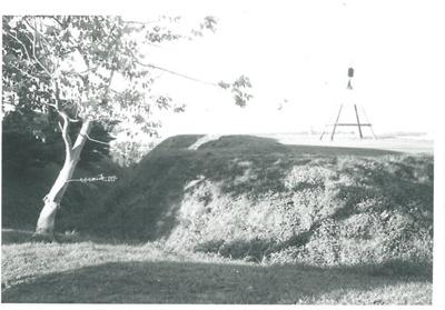 Eastern Bastion, Stockade Hill; La Roche, Alan; Aug. 1969; 2016.311.52