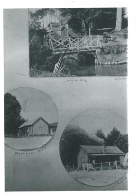 Three Cottages at Maraetai Beach 1908; 13/01/1908; 2017.300.61