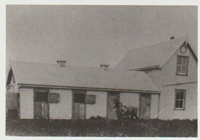 Green Mount Estate stables; 1/08/1991; 2018.163.82
