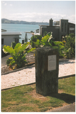 Maraetai Mission Station plaque unveiling; 1/08/1991; 2017.315.73
