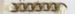 Brass chain; O2018.26