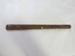 Carved Maori stick; O2017.177