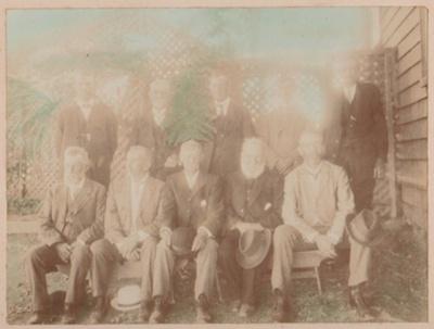 Pakuranga School Committee and farewell; 1914; 2019.031.02