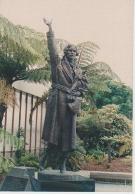 Statue of Jean Batten; Fairfield, Geoff; 1989-1995; 2018.170.87